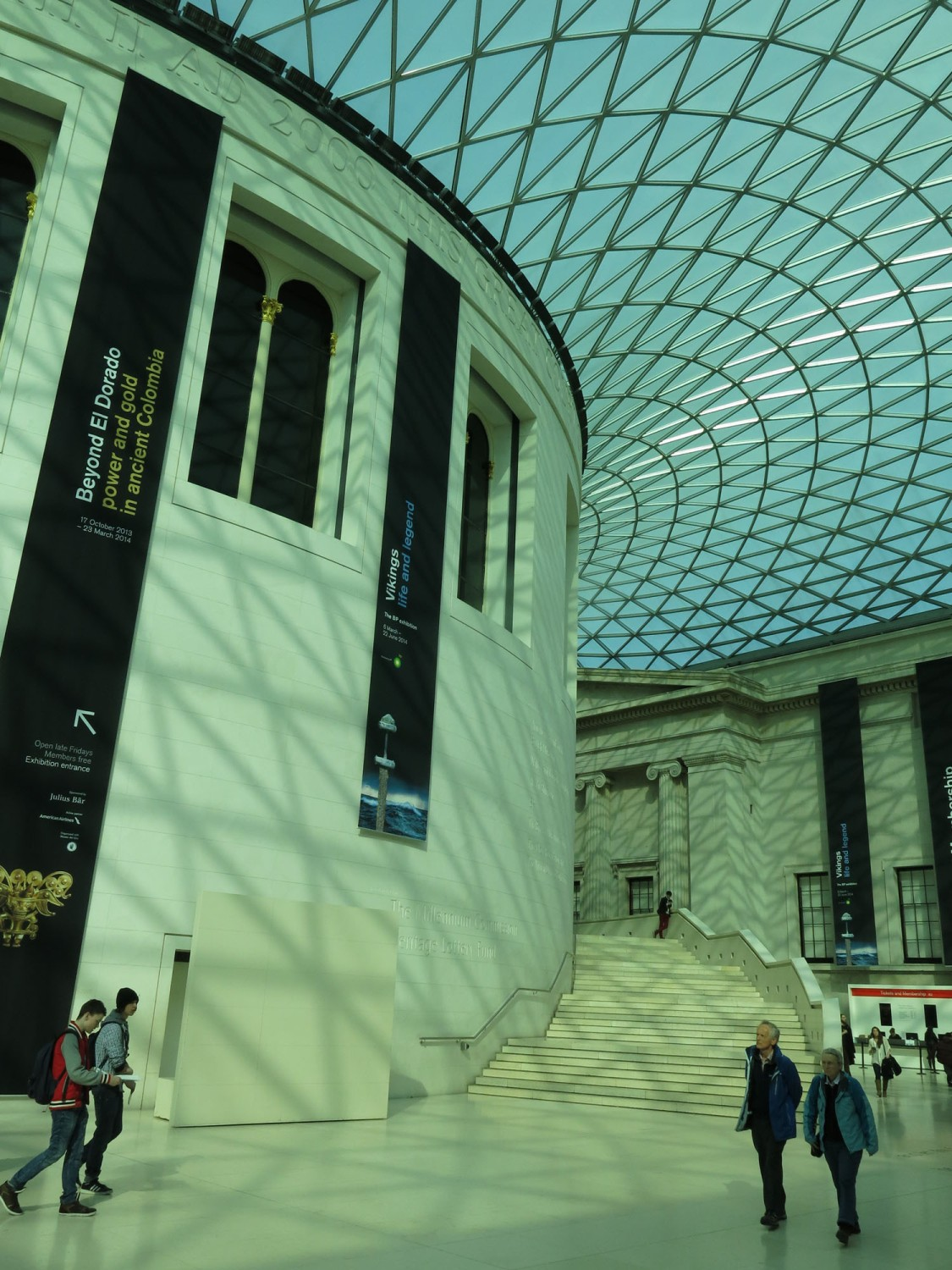 England-London-British-Museum-Architecture