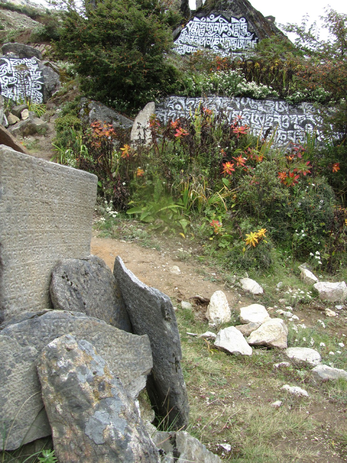 Nepal-Everest-Region-Trek-Day-08-Mani-Stone-Garden