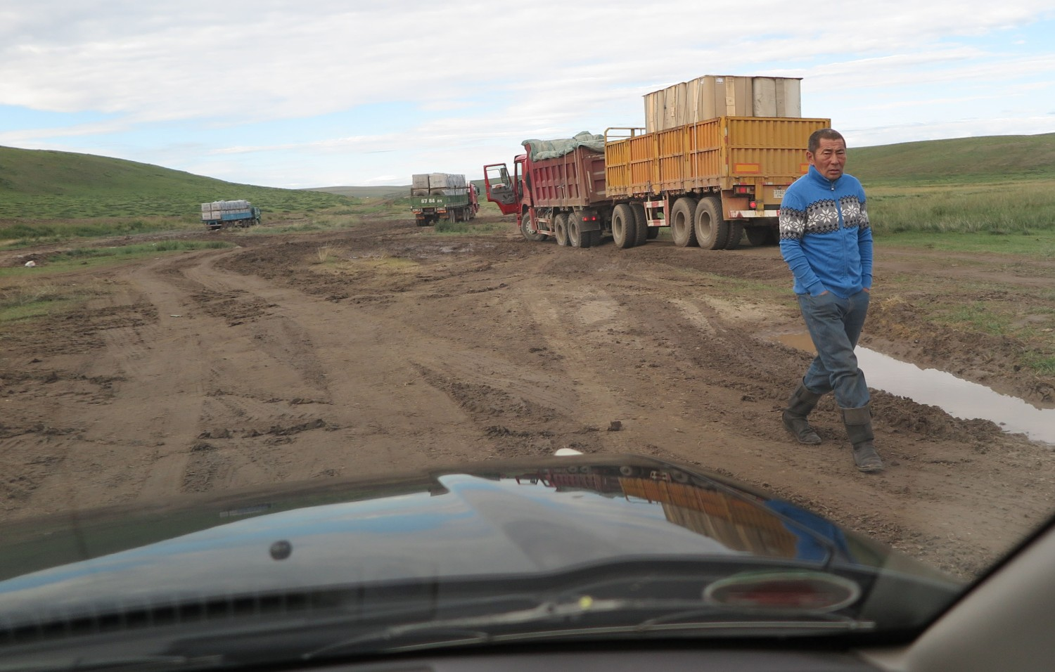 Mongolia-On-The-Road-Mud