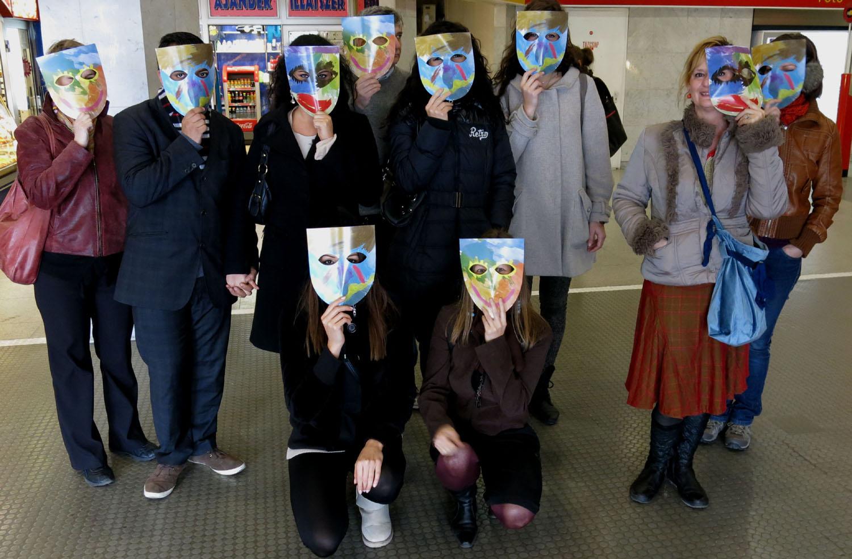 Hungary-Budapest-Metro-Masks