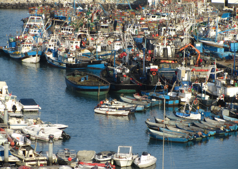 Morocco-Tangier-Harbor