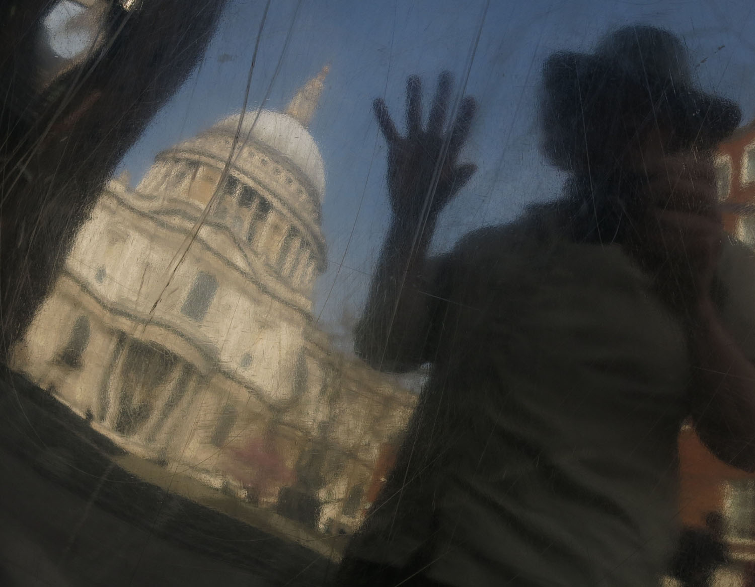 England-London-Saint-Pauls-Reflection