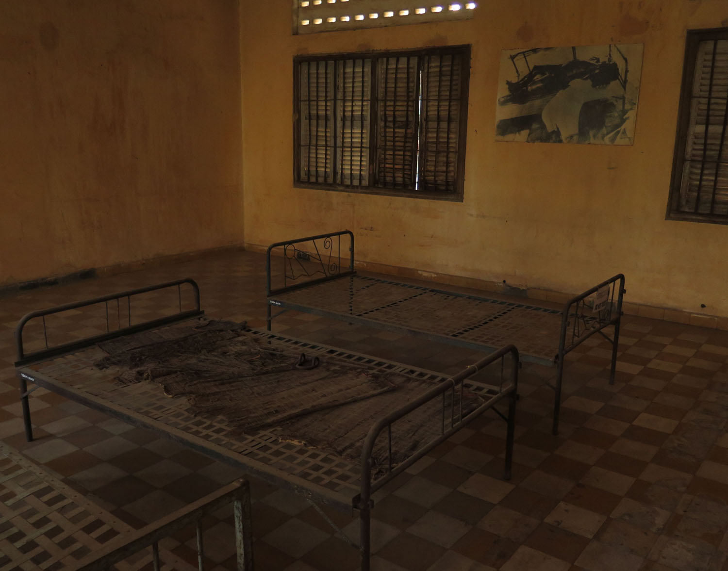 Cambodia-The-Killing-Fields-S-21-Torture-Bed