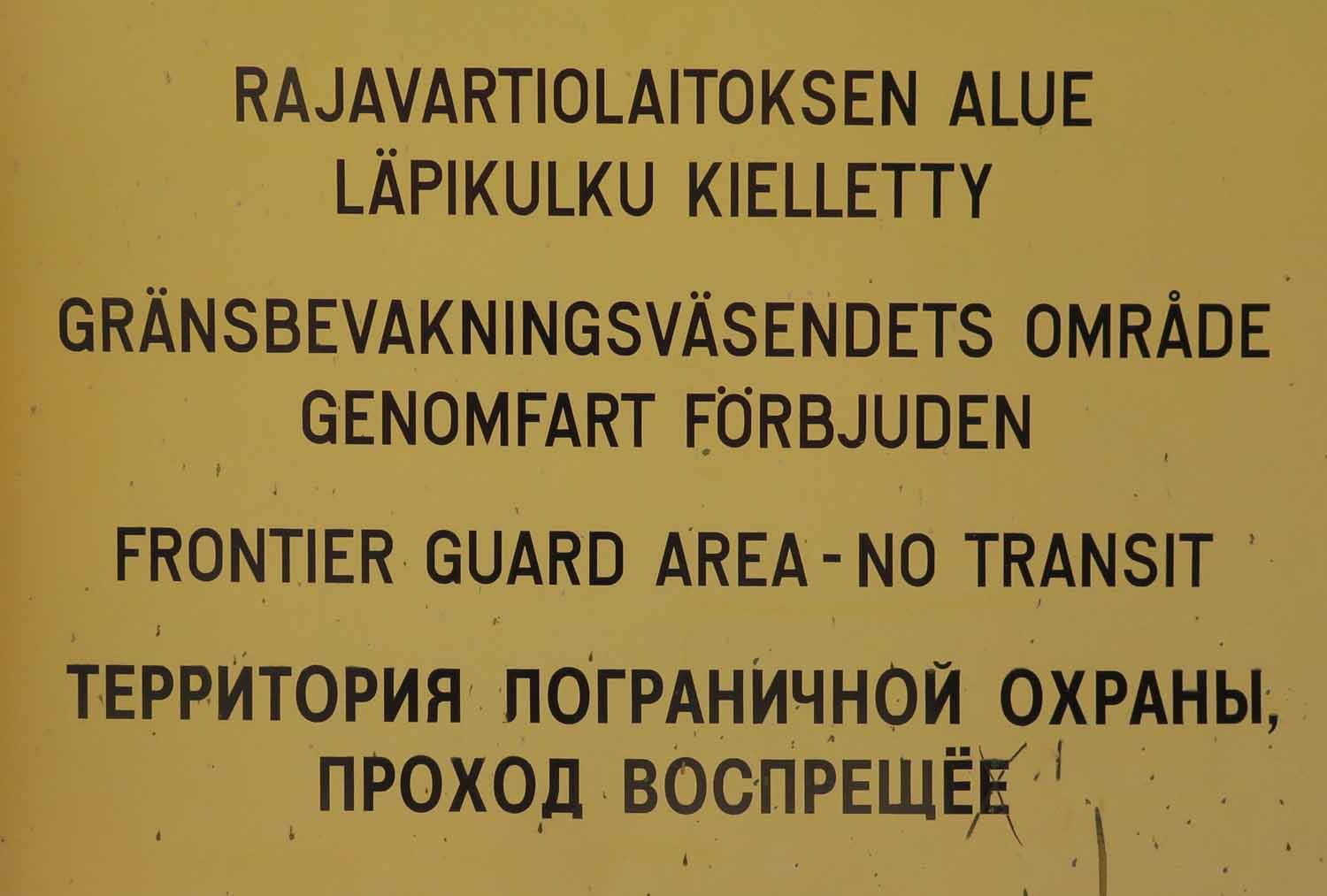 Finland-Helsinki-Keep-Out