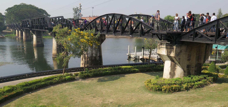 Thailand-Kanchanaburi-Bridge-River-Kwai