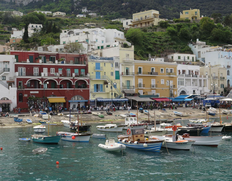 Italy-Capri-Map