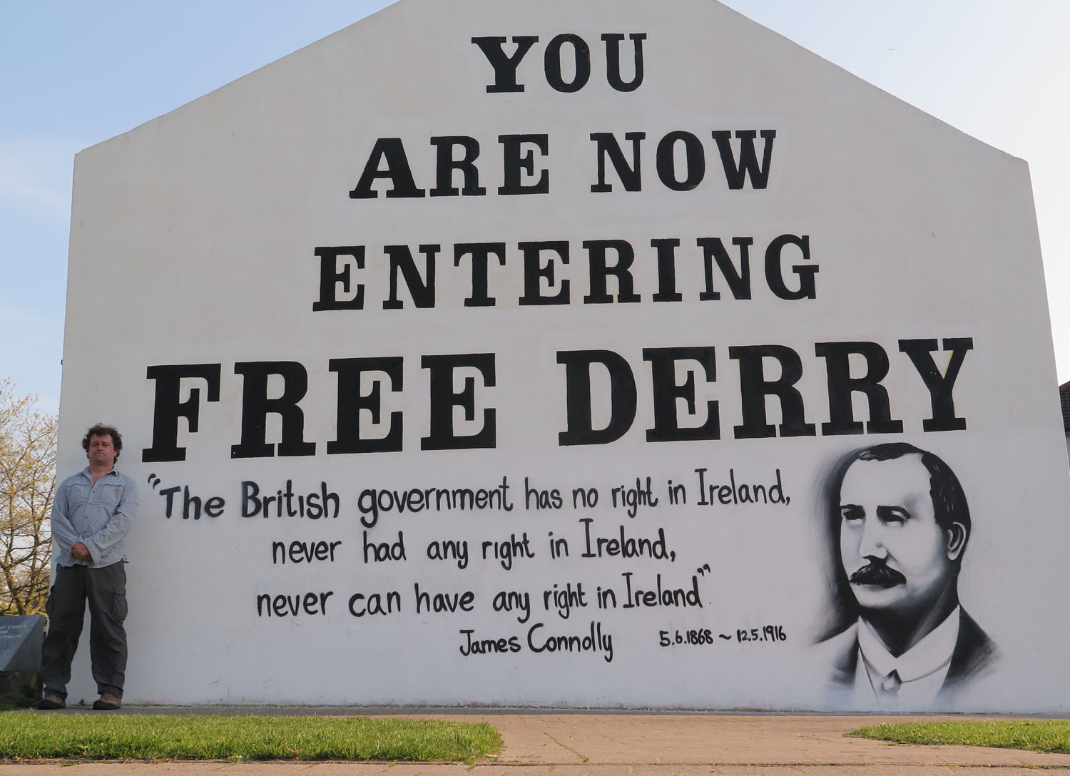Northern-Ireland-Derry-Londonderry-Free-Derry-Monument
