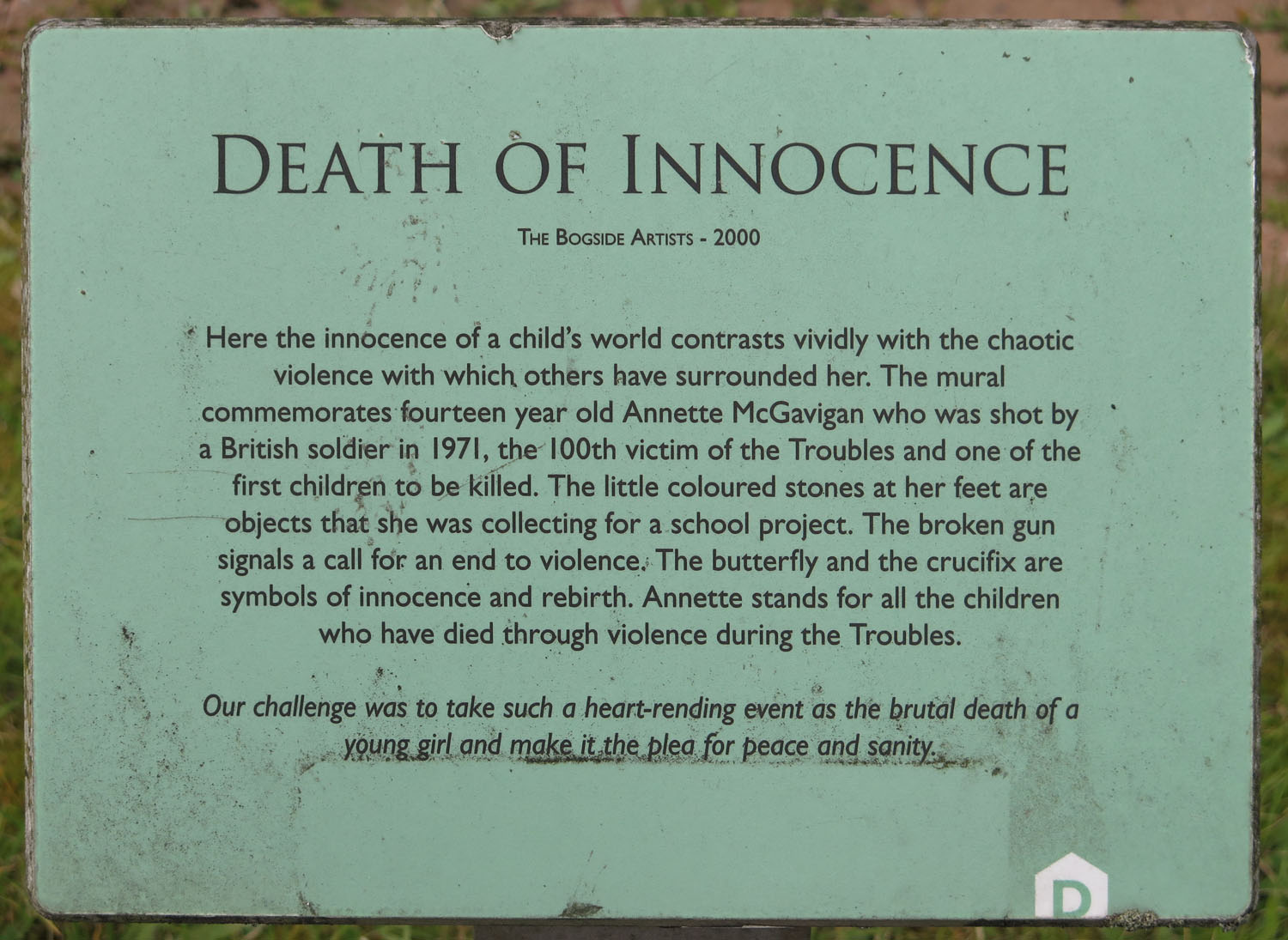 Northern-Ireland-Derry-Londonderry-Death-Of-Innocence
