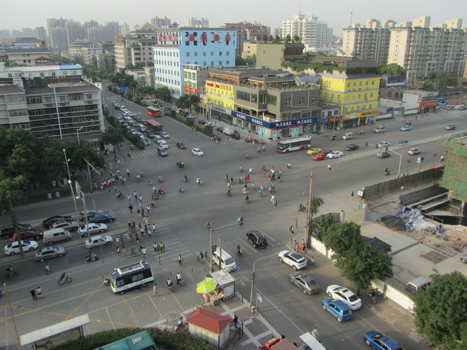 China-Xian-Intersection