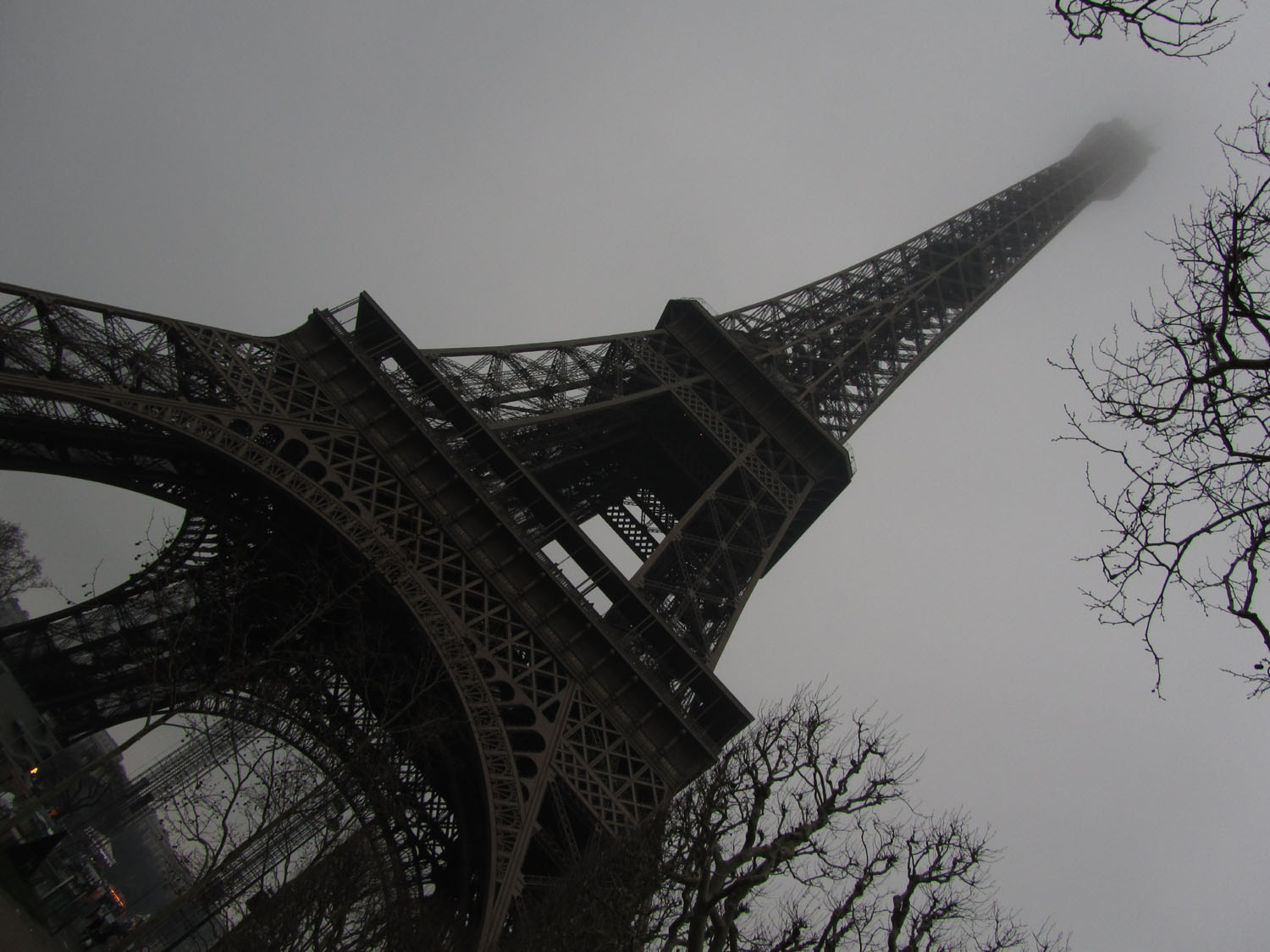 France-Paris-Eiffel-Tower-Looking-Up