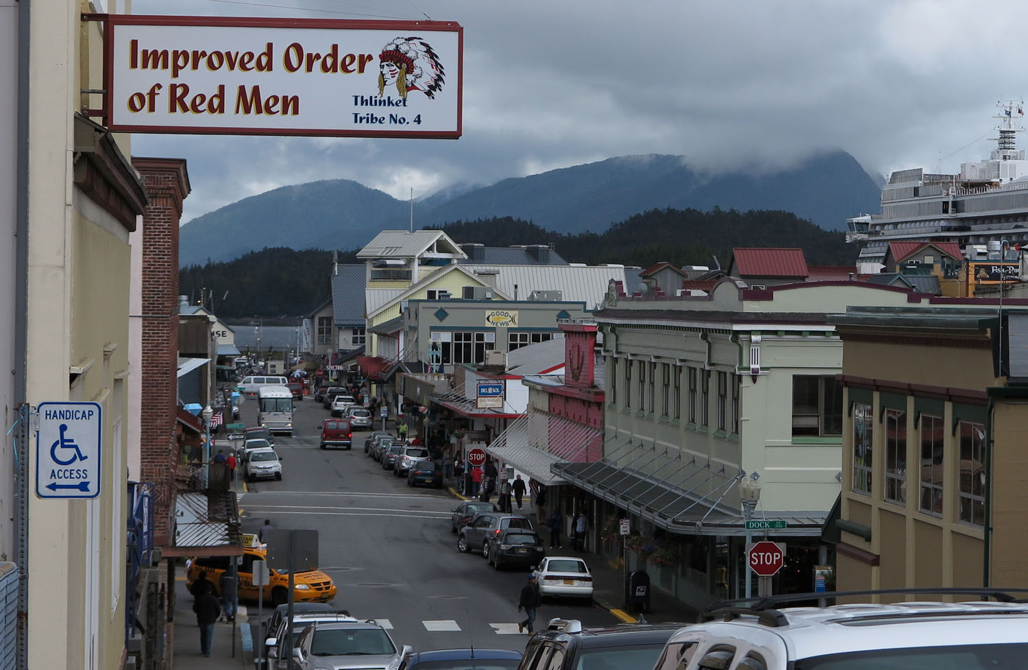 Alaska-Ketchikan-Downtown