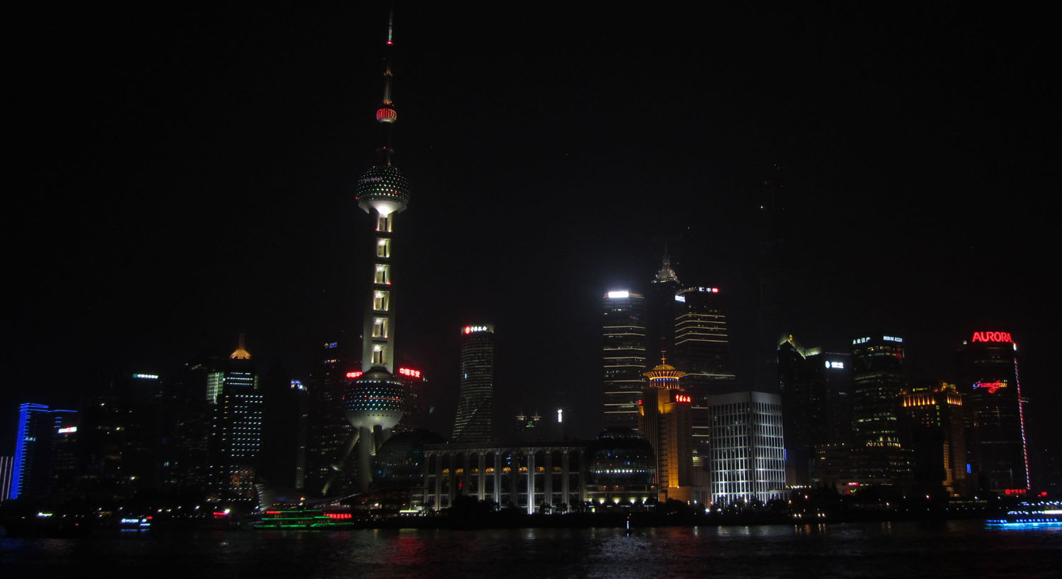 China-Shanghai-Skyline