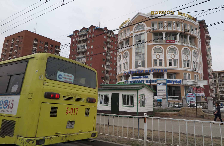 Mongolia-Ulanbator-Street-Scenes-Buildings