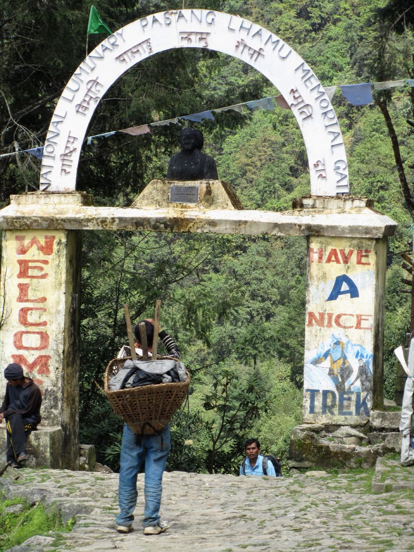Nepal-Everest-Region-Trek-Day-01-Lukla-Gate