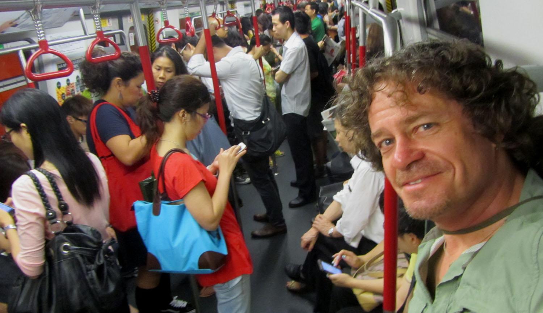China-Hong-Kong-Reflection-Self-Portrait-Metro-Self-Portrait