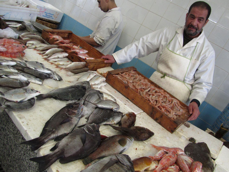 Morocco-Tangier-Souk-Fish