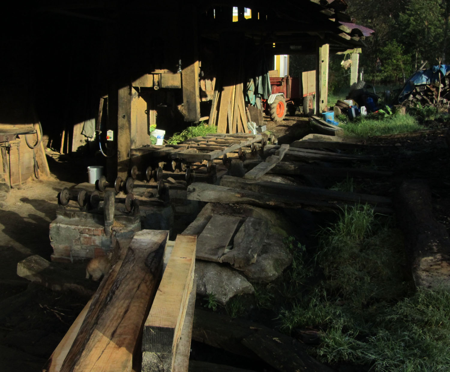 Camino-De-Santiago-Sights-And-Scenery-Sawmill