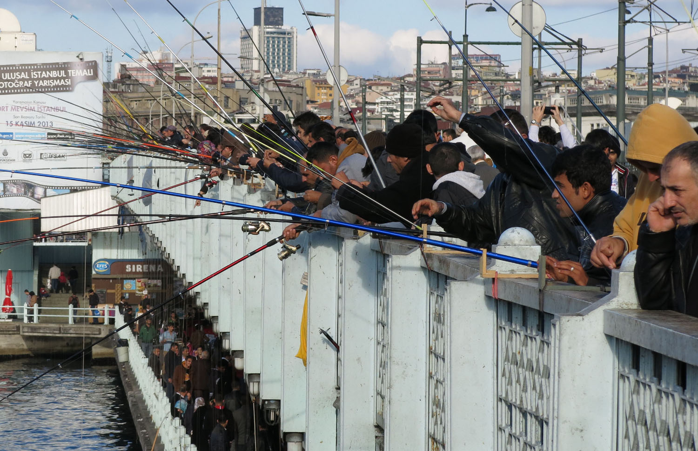 Turkey-Istanbul-Galata-Bridge