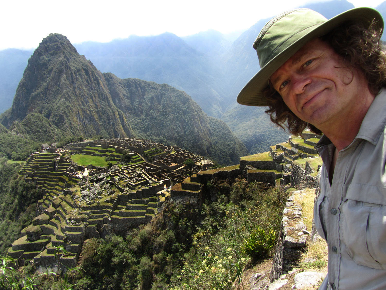 Peru-Machu-Picchu-Self-Portrait
