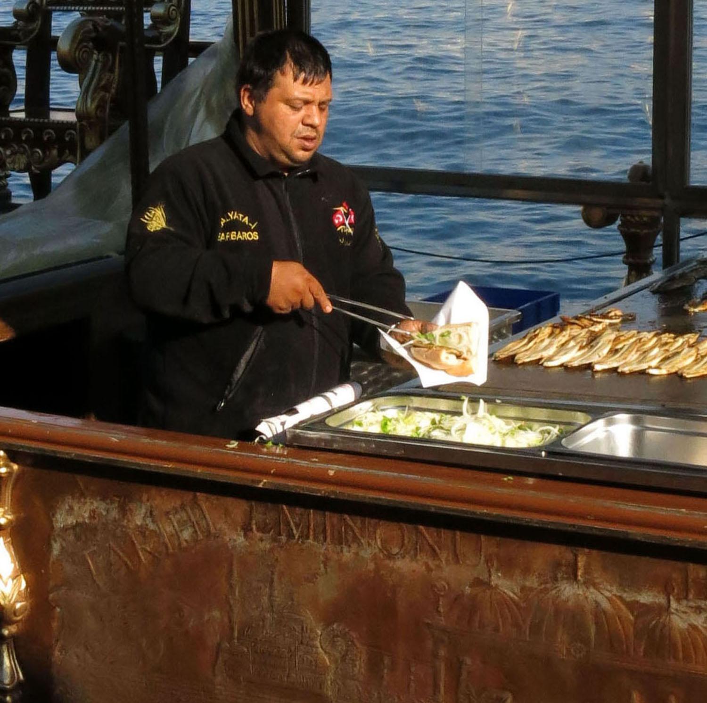 Turkey-Istanbul-Fish-Boat
