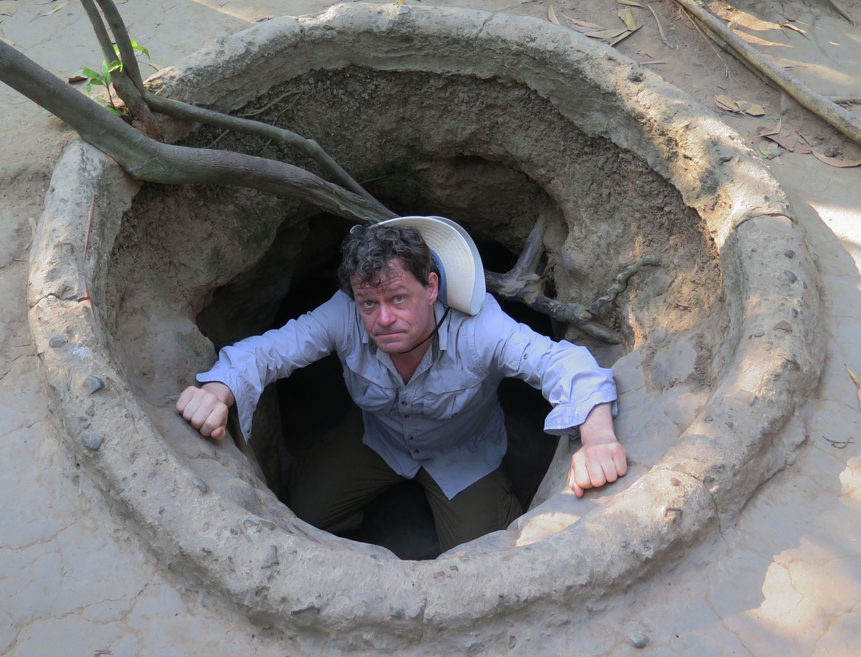 Vietnam-Cu-Chi-Tunnels-Entrance