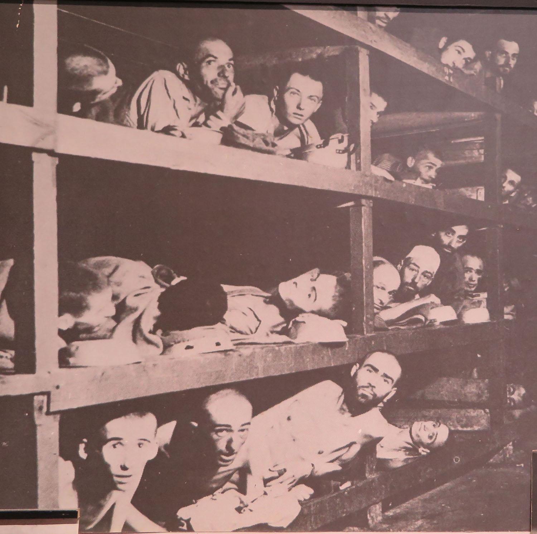 Poland-Auschwitz-Birkenau-Barracks