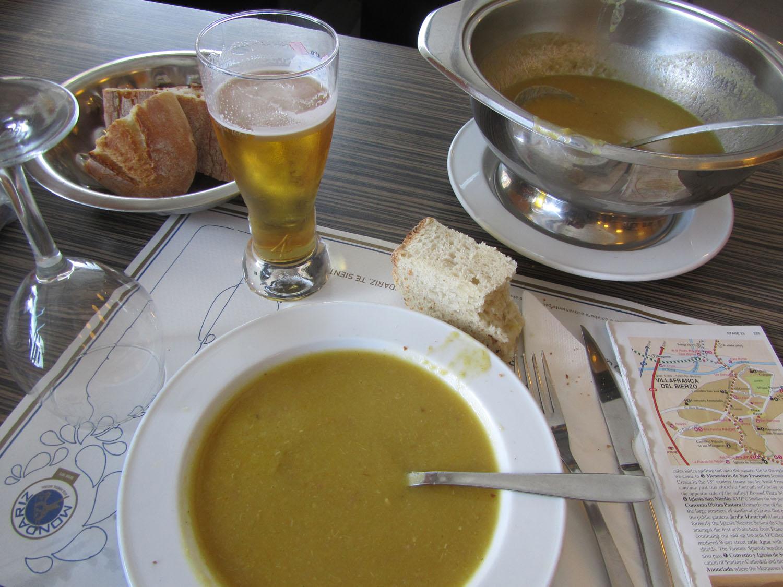 Camino-De-Santiago-Food-And-Drink-Sopa