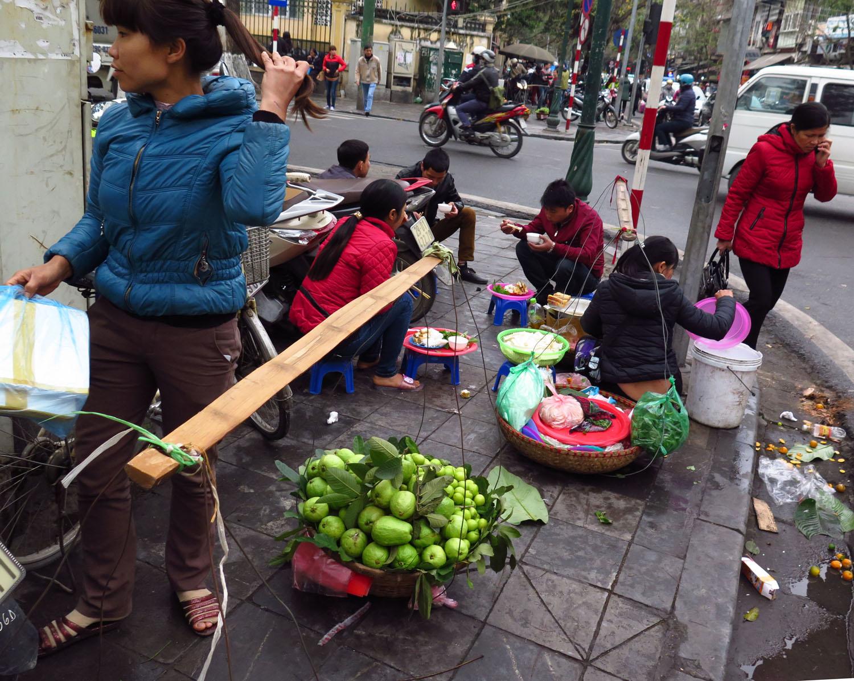 Vietnam-Hanoi-Street-Scenes-Fruit-Sellers