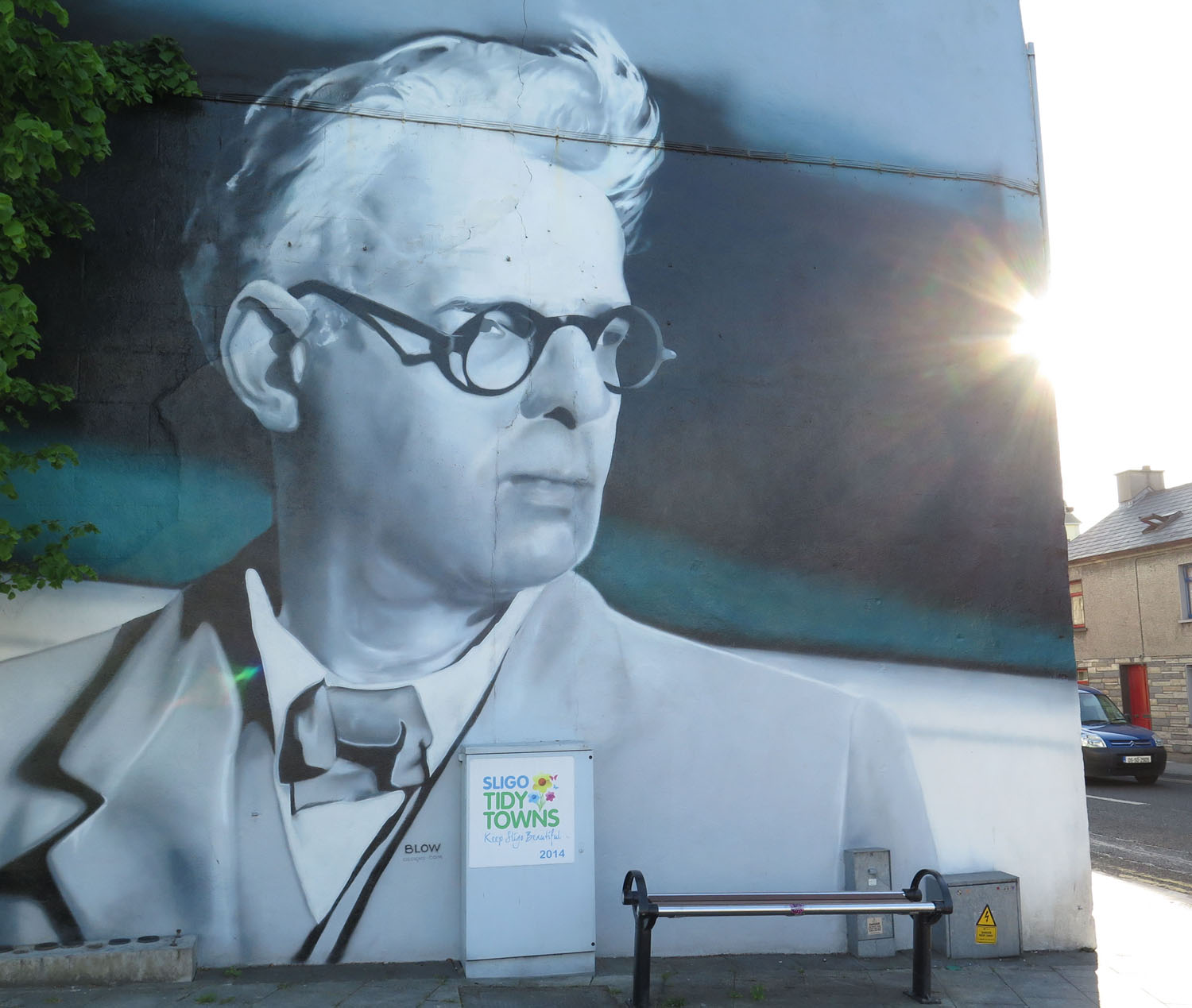 Ireland-Sights-And-Scenery-Sligo-Yeats-Mural