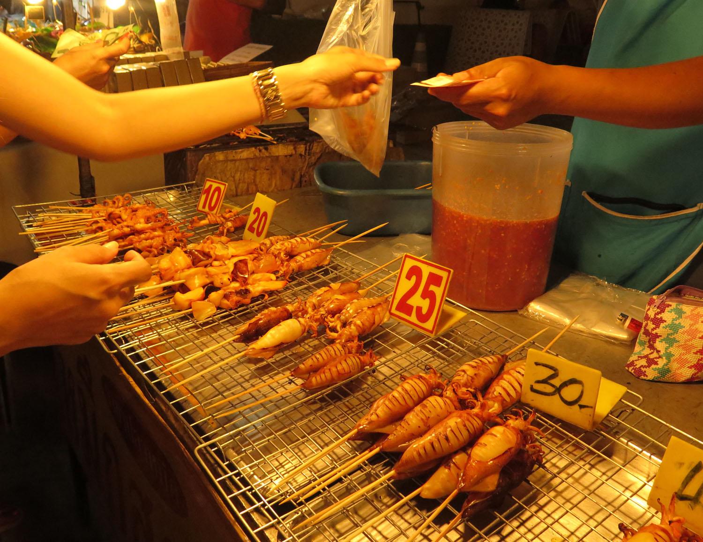 Thailand-Ko-Samui-Fishermans-Village-Squid