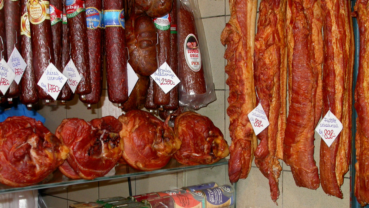 Hungary-Budapest-Great-Market-Hall-Meat