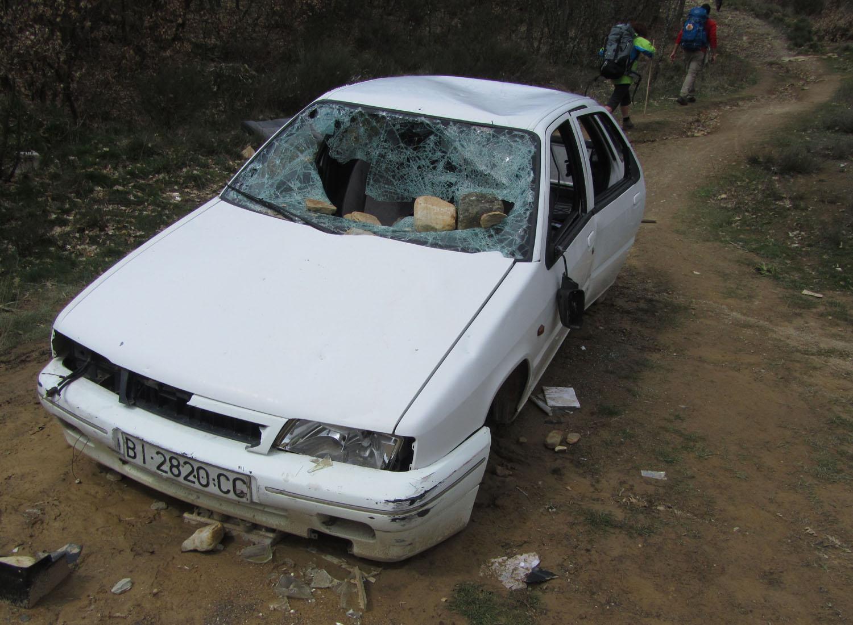 Camino-De-Santiago-Fun-Car-Wreck