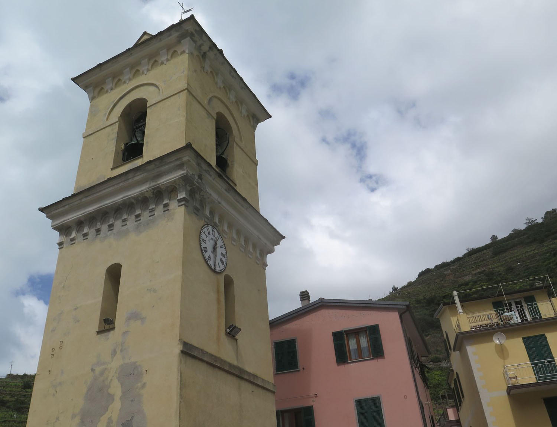 Italy-Cinque-Terre-Manarola-Bell-Tower