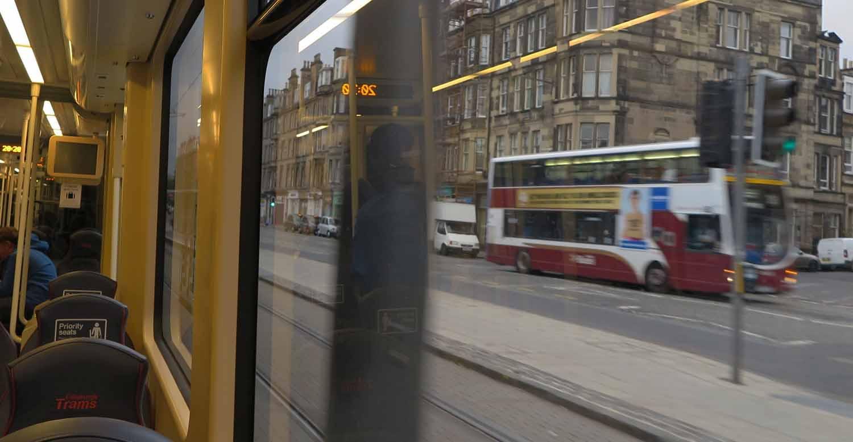 Scotland-Lowlands-Edinburgh-Tram-Ride
