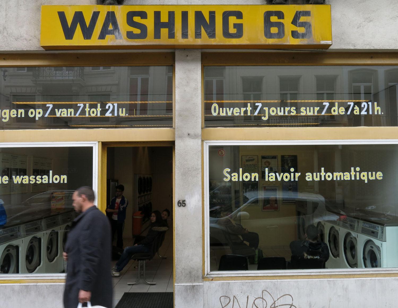 Belgium-Brussels-Laundry