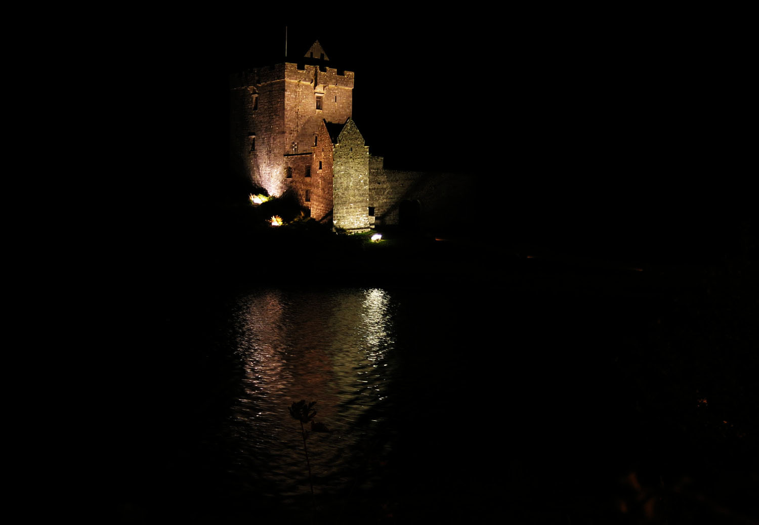 Ireland-Sights-And-Scenery-Dunguaire-Castle-Night