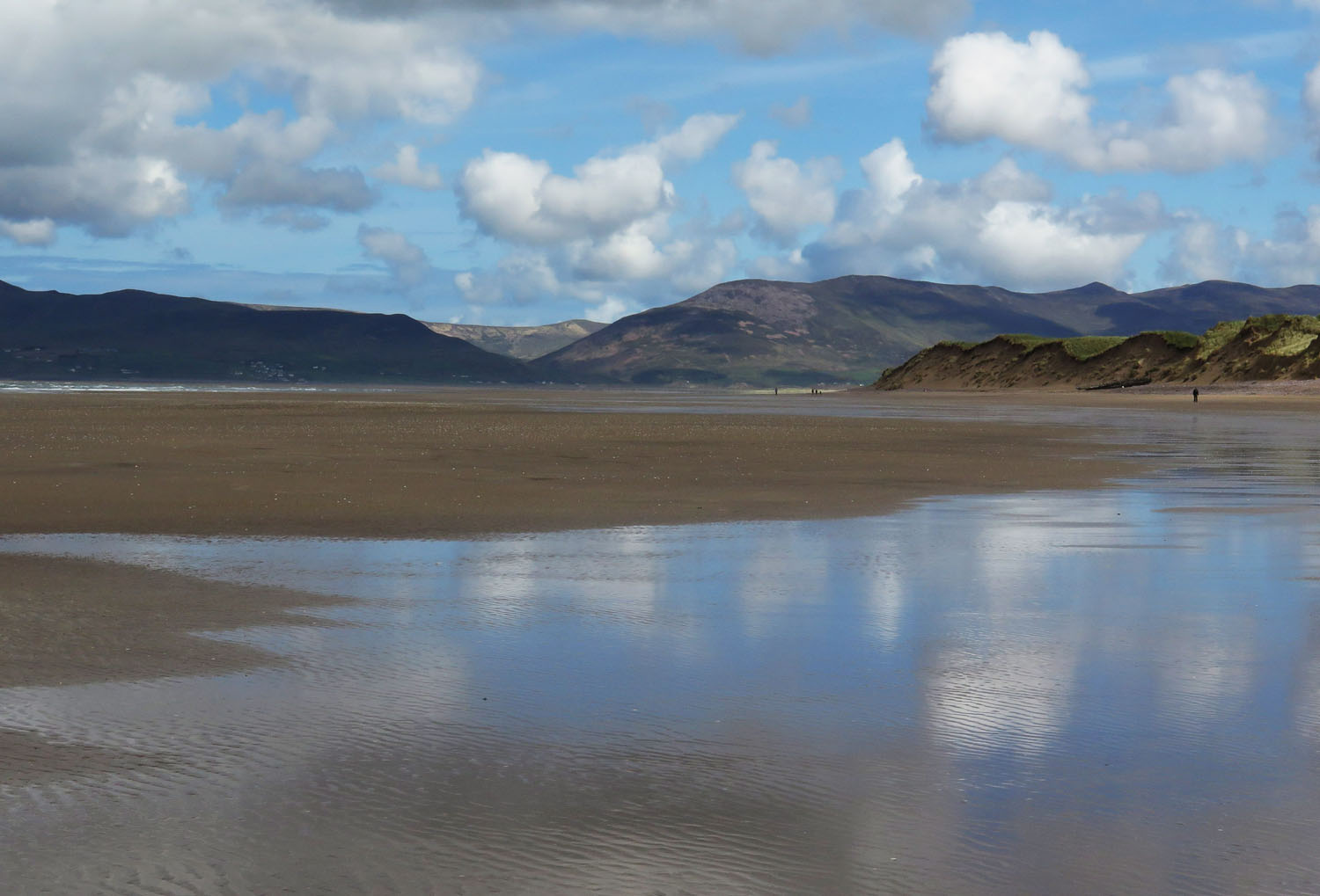 Ireland-Sights-And-Scenery-Rossbeigh-Strand-Reflection