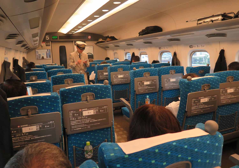 Japan-Shinkansen-Interior