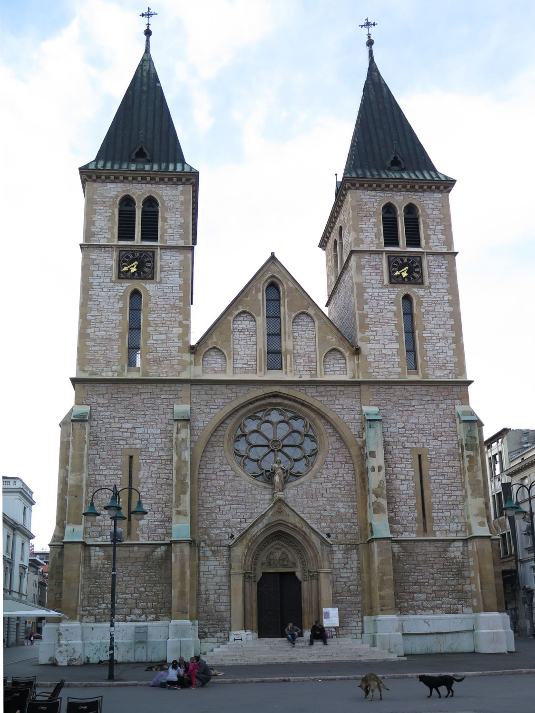 Bosnia-Sarajevo-Siege-Church