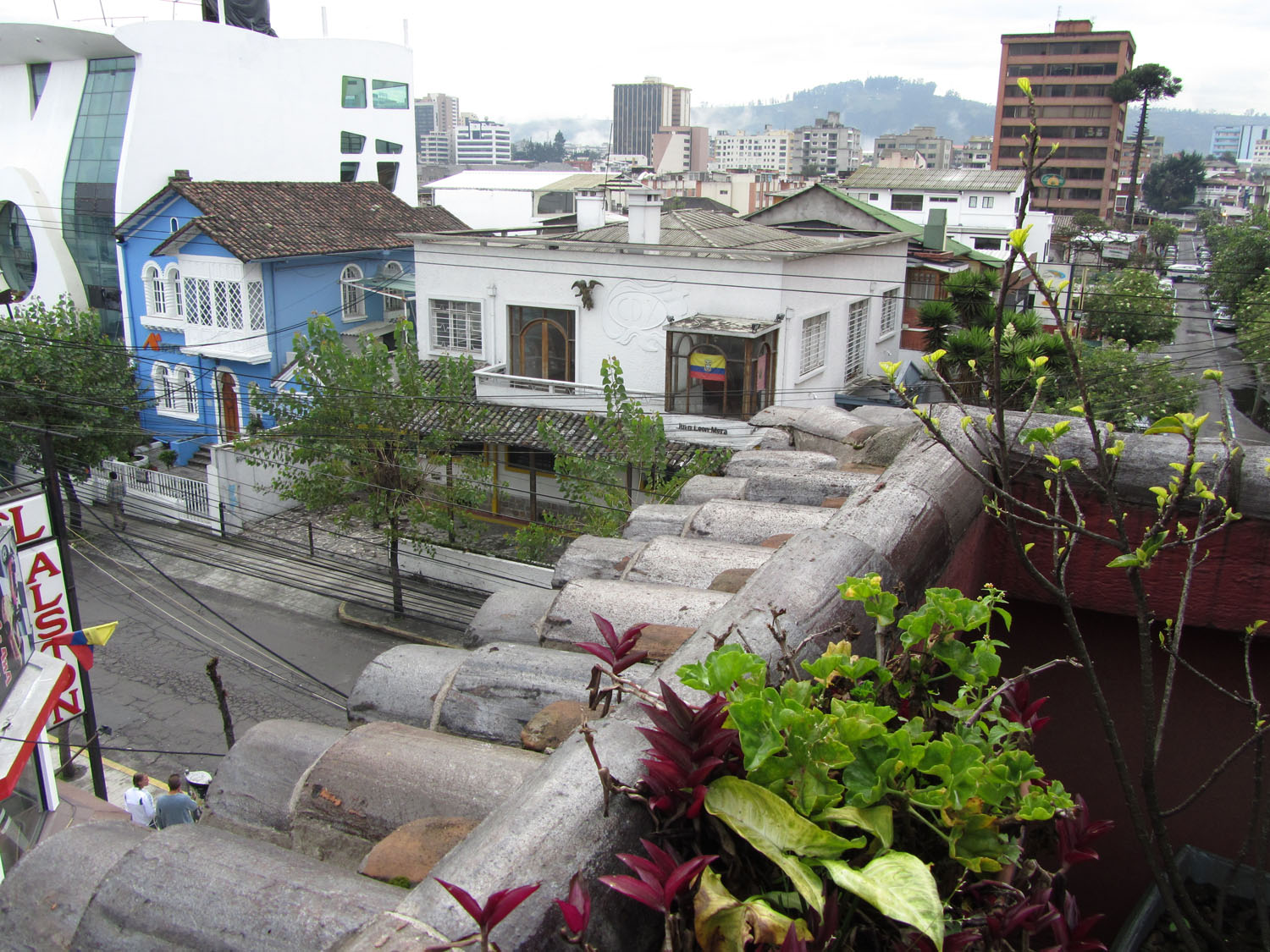 Ecuador-Quito-Hotel-Balcony-View
