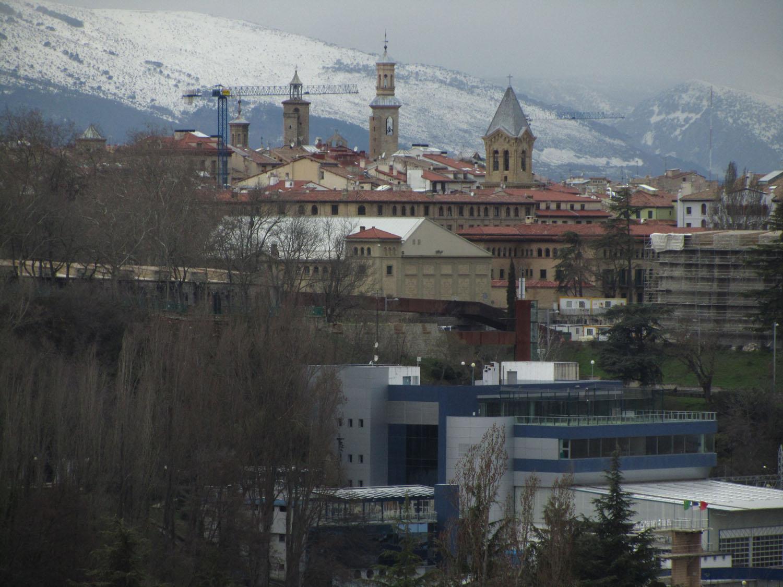 Camino-De-Santiago-Sights-And-Scenery-Pamplona-Skyline