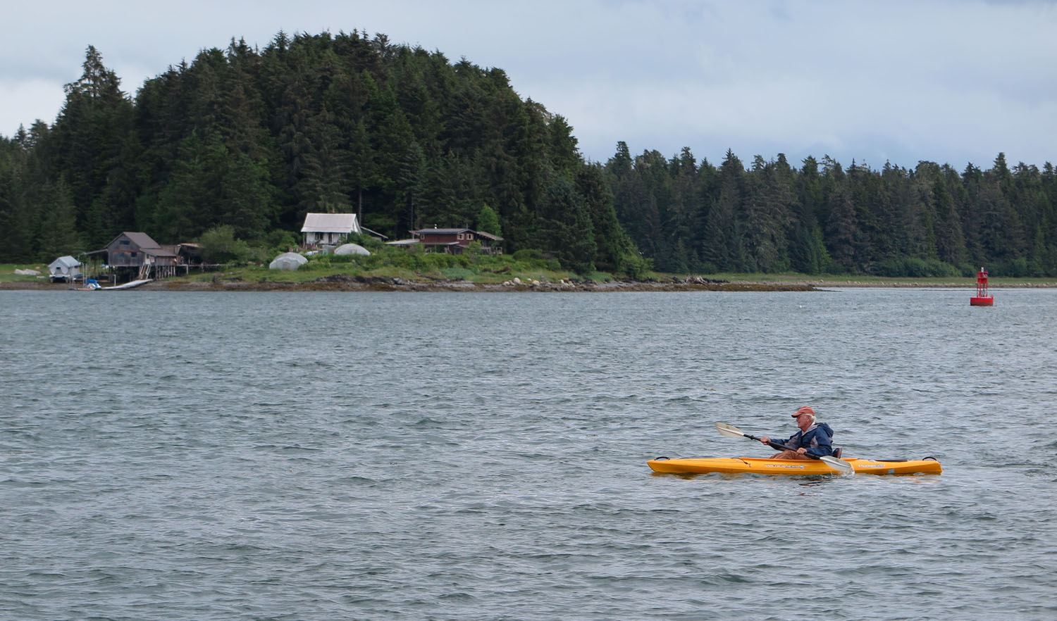 Alaska-Petersburg-Kayaking