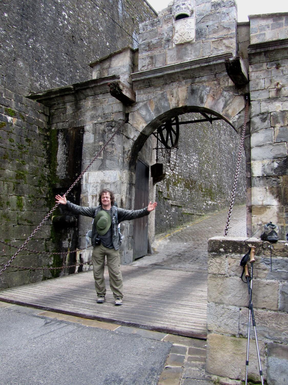 Camino-De-Santiago-Sights-And-Scenery-Pamplona-Gate