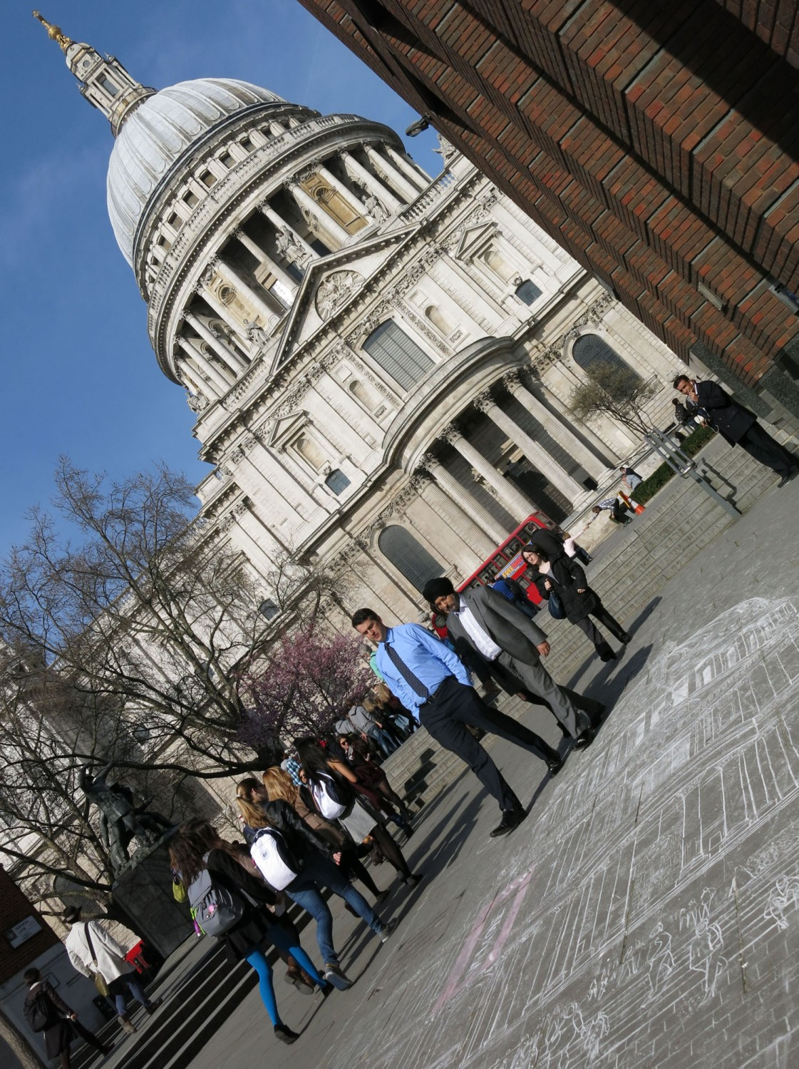 England-London-Saint-Pauls-Chalk