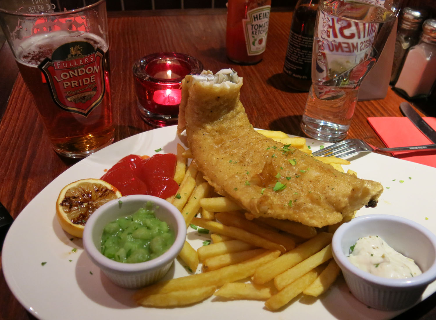 England-London-Food-And-Drink-Fish-And-Chips