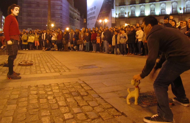 Spain-Madrid-Street-Performer