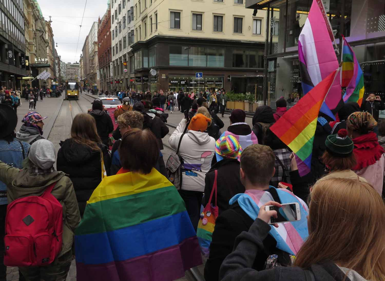 Finland-Helsinki-Trans-Rights-Demonstration