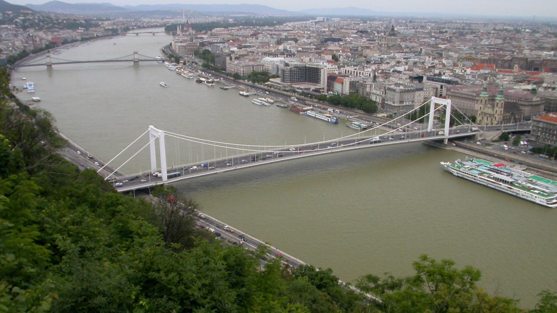 Hungary-Budapest-Gellert-Hill-View