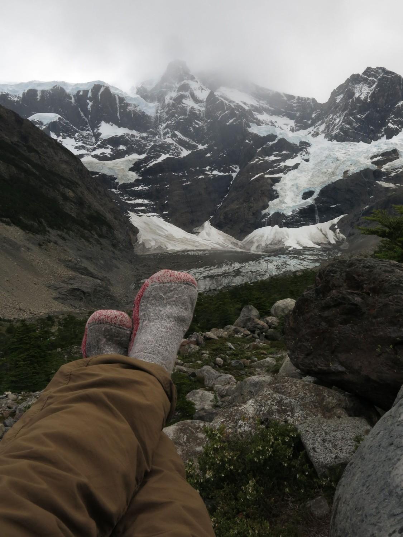Patagonia-Paine-W-Trek-Day3-Glacier-Socks
