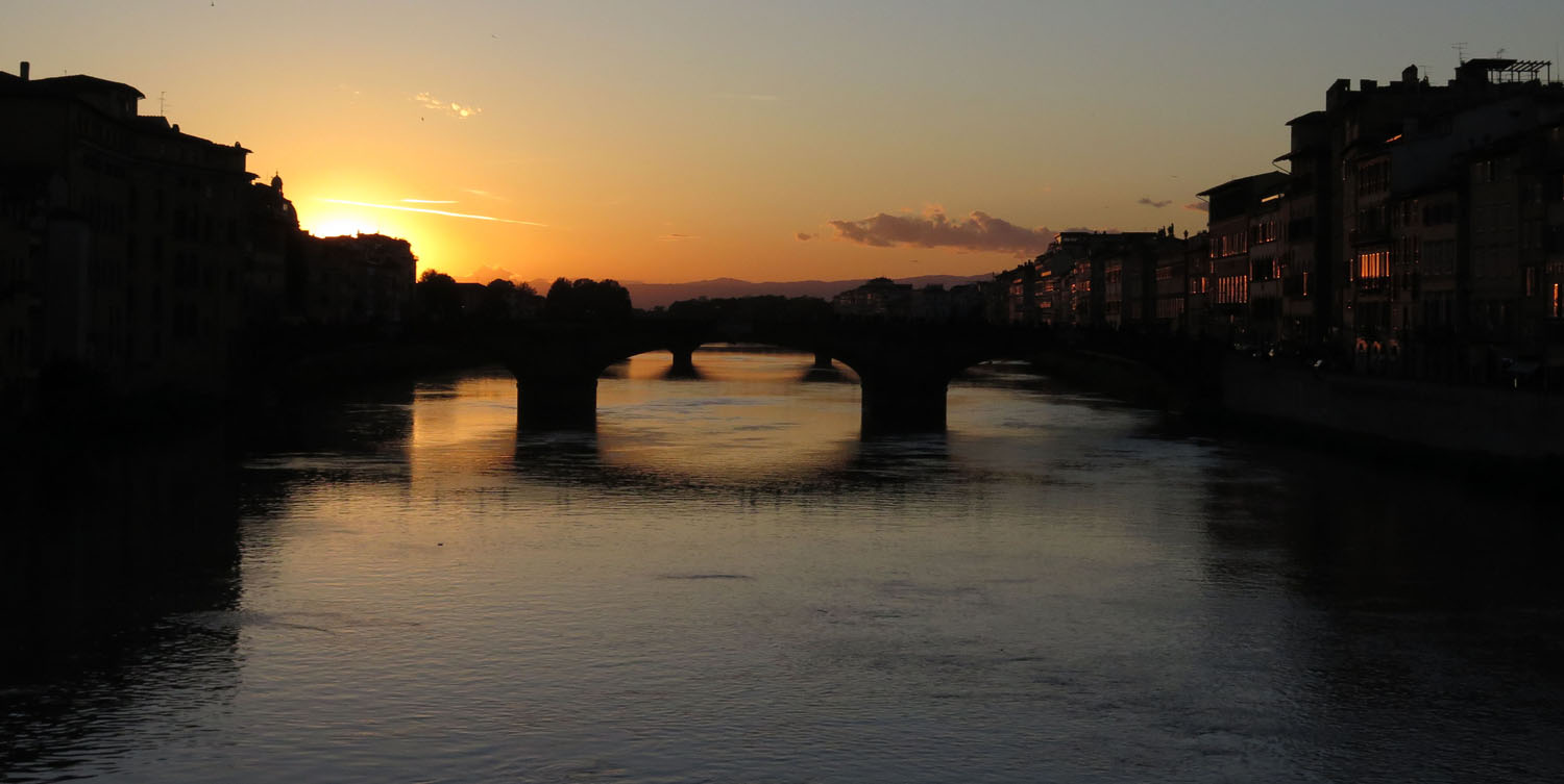 Italy-Florence-Sunset-From-Ponte-Vecchio